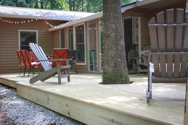 DIY Backyard Deck Rebuild