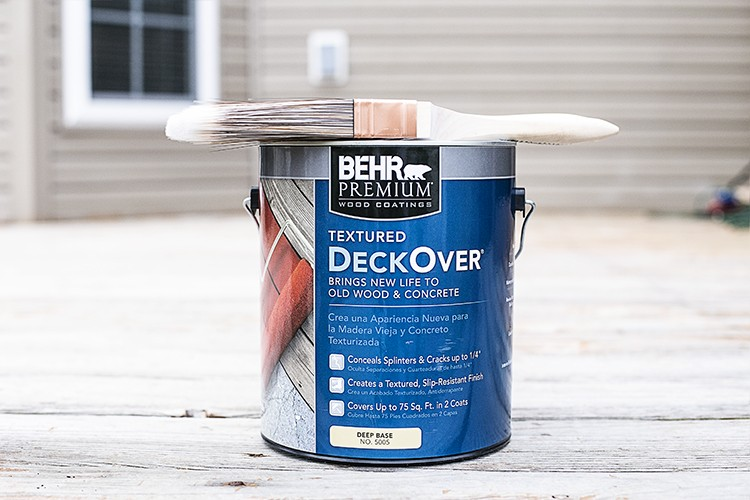 BEHR DeckOver Textured Concrete and Wood Coating