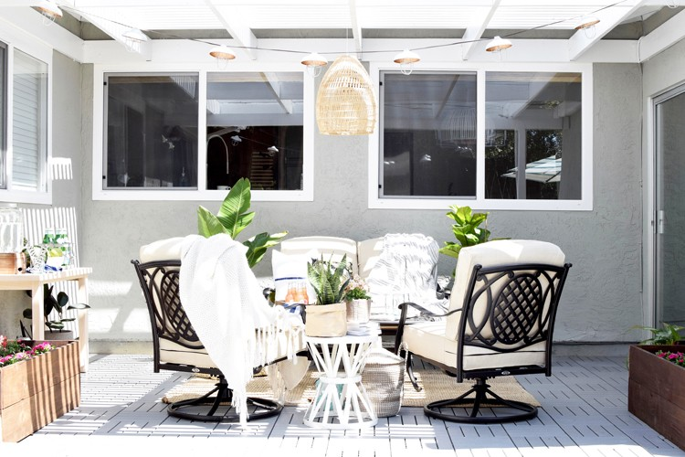 Four Elements for a Budget-Friendly Patio Refresh