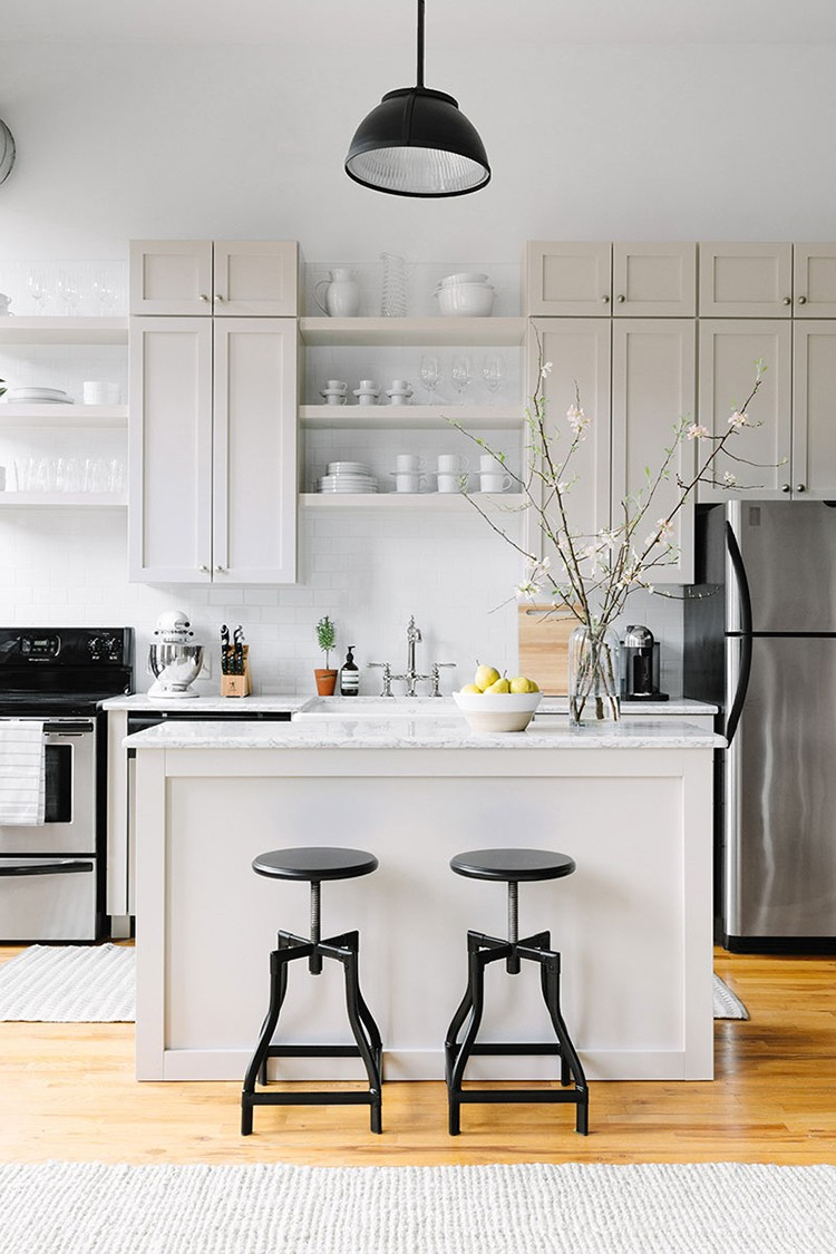 Chic Office Kitchen Space Makeover