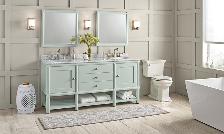 On-Trend Bathroom Ideas: Luxury Look