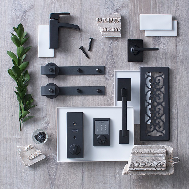 New Decor Trends in Hardware: All Matte Black