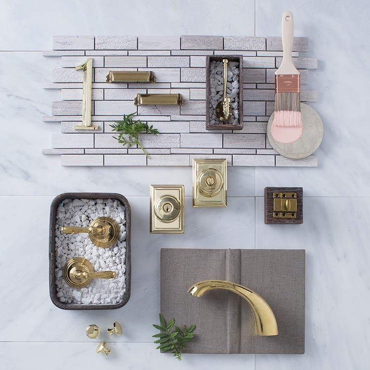 Hardware Looks to Inspire: Polished Brass