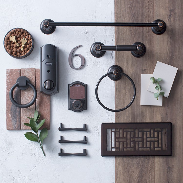 Hardware Looks to Inspire: Venetian Bronze