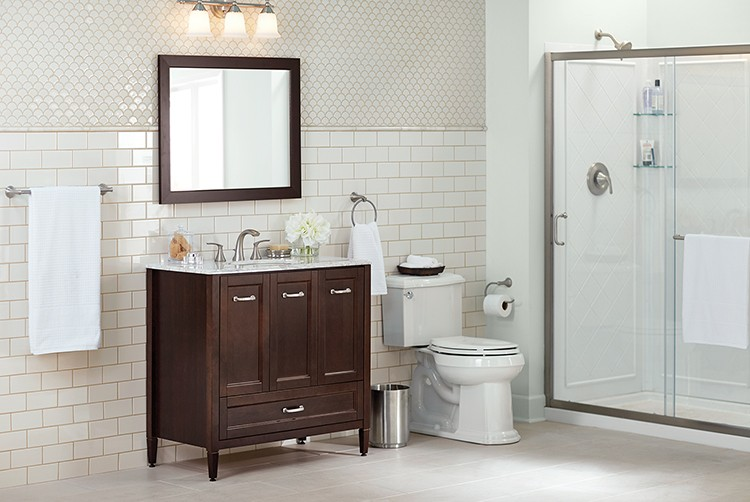 On-Trend Bathroom Ideas: Classic Look