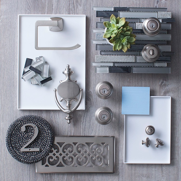 Hardware Looks to Inspire: Brushed Nickel Updated