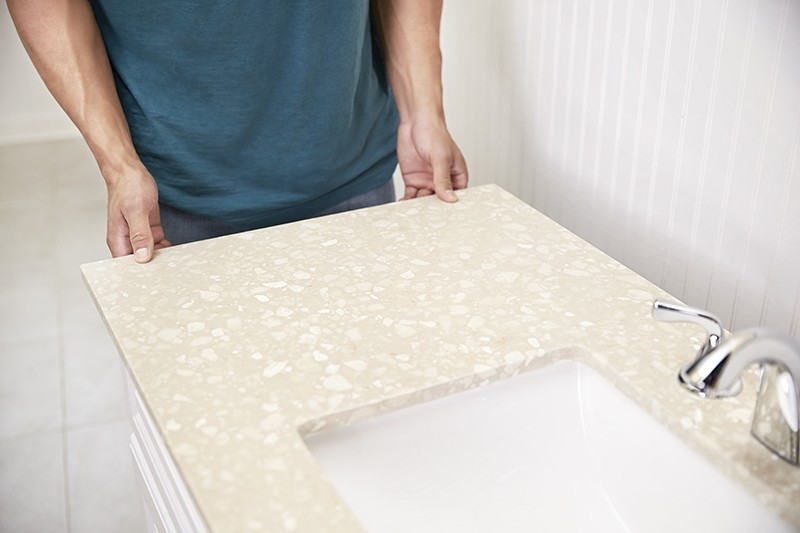 How To Update Your Vanity and Faucet - Prep for Removal