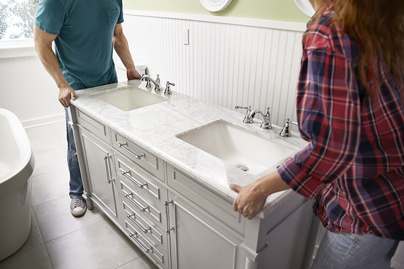 How To Update Your Vanity and Faucet - Secure New Vanity