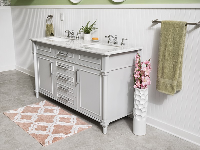 How To Update Your Vanity and Faucet - Test and Caulk