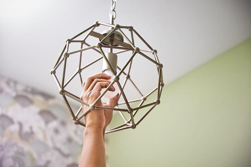 How to Update Bathroom Lighting - Add Bulbs