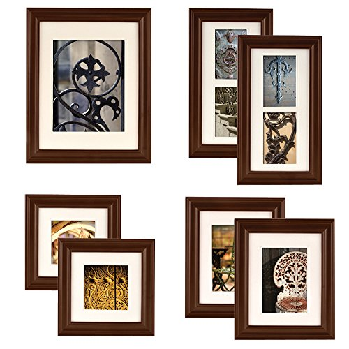 Turn An Empty Wall Into A Contemporary Gallery E To Showcase Your Most Adorned Moments With Our 7 Piece Photo Frame Kit