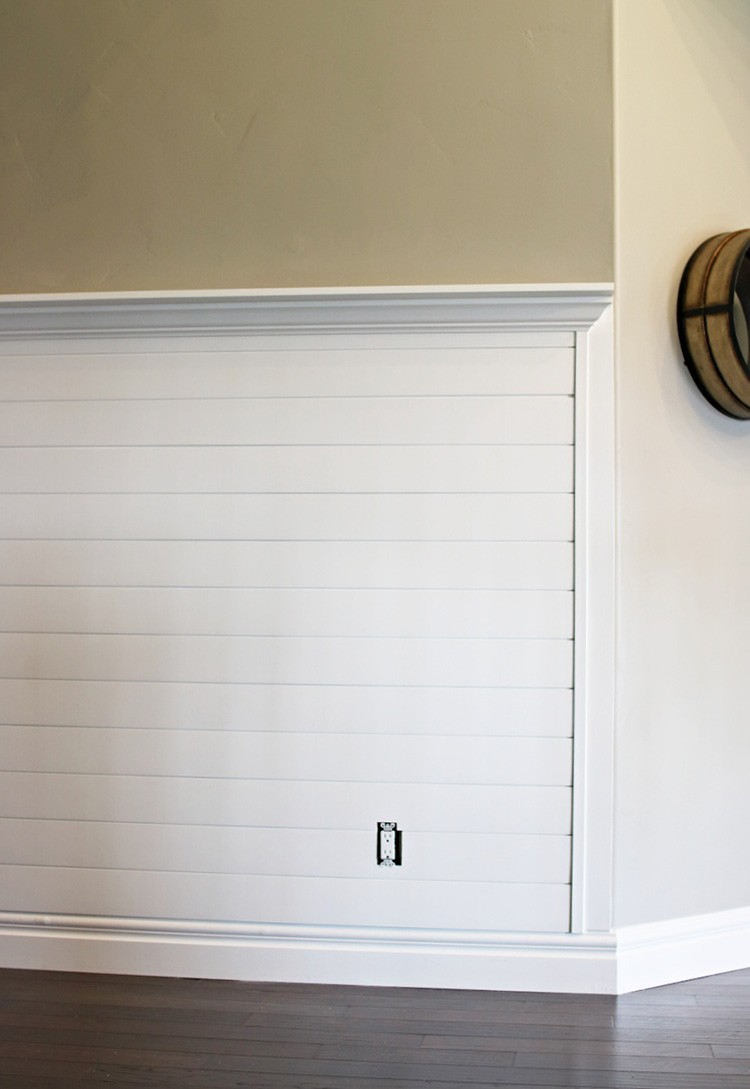 Create A Sleek Entry Way Using Shiplap Paneling Home