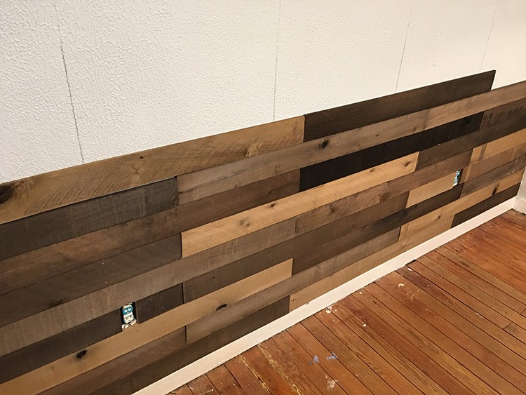 Weathered Wall Boards