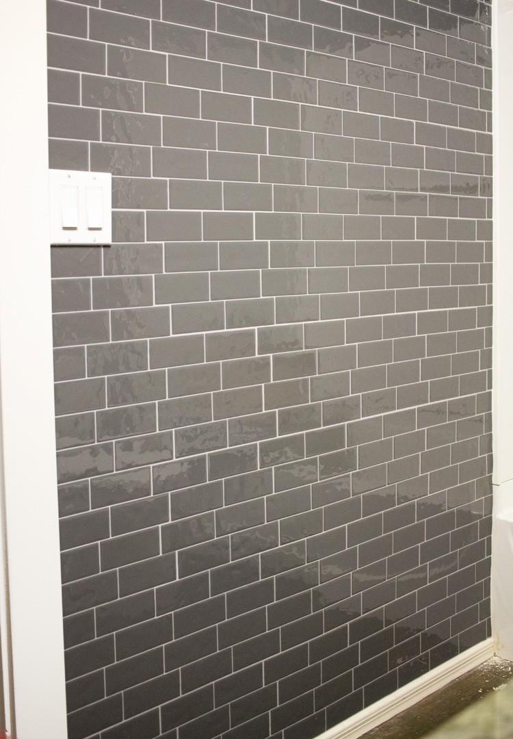 gray subway tile