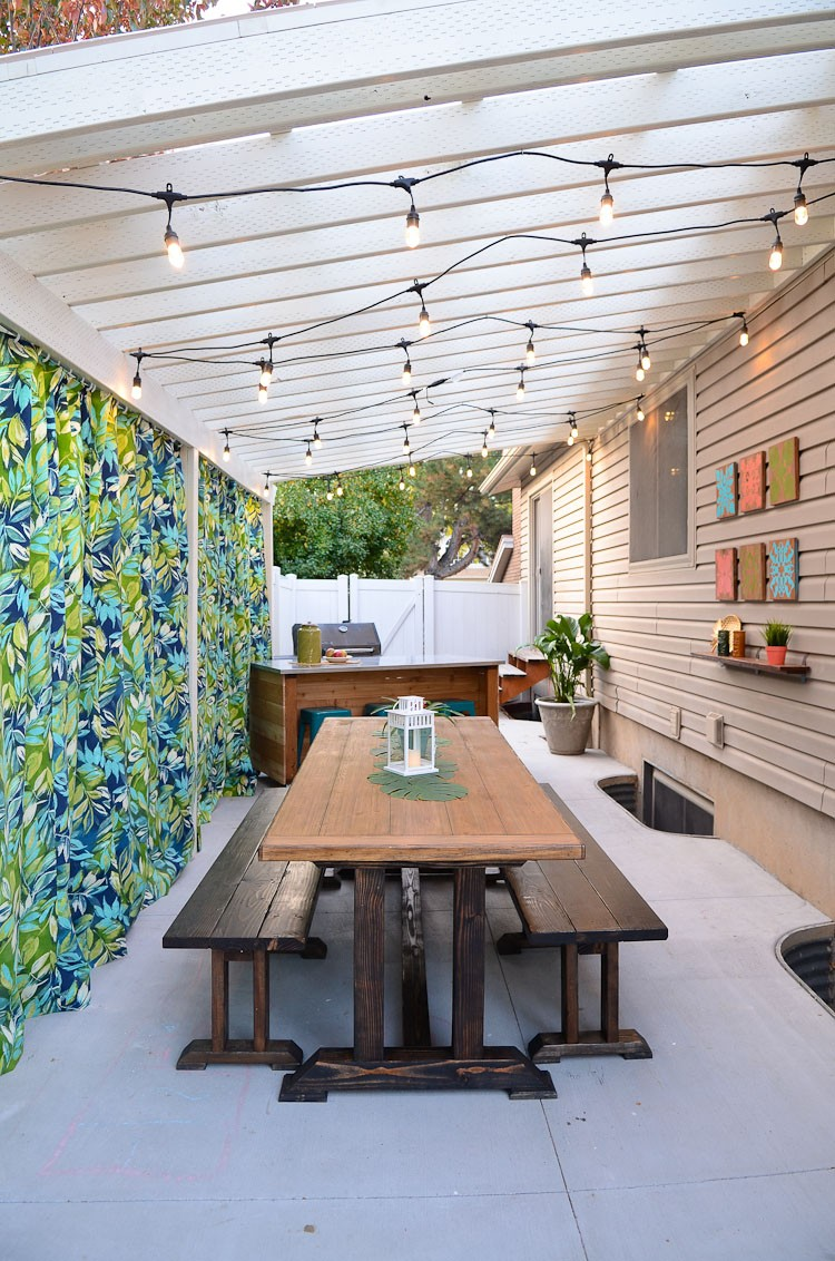 Creating a Backyard Pergola and Oasis on a Budget - Home ...