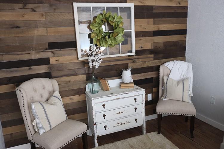 Weathered Wood Wall
