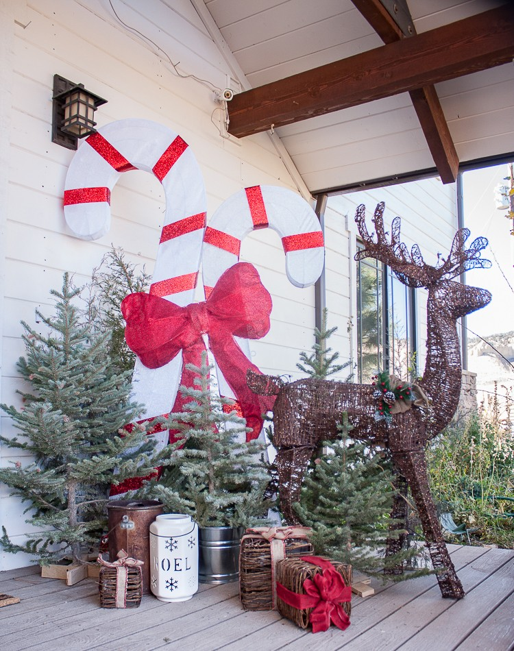 Wonderful Woodland Farmhouse Christmas Decor