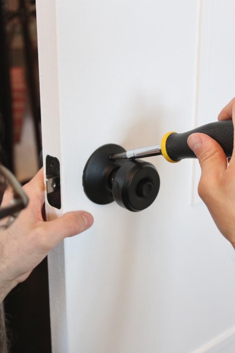 DIY Mid-Century Door Makeover