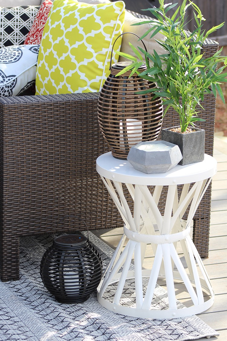 5 Steps to the Perfect Backyard: Build a Floating Deck with a DIY Chevron Privacy Wall