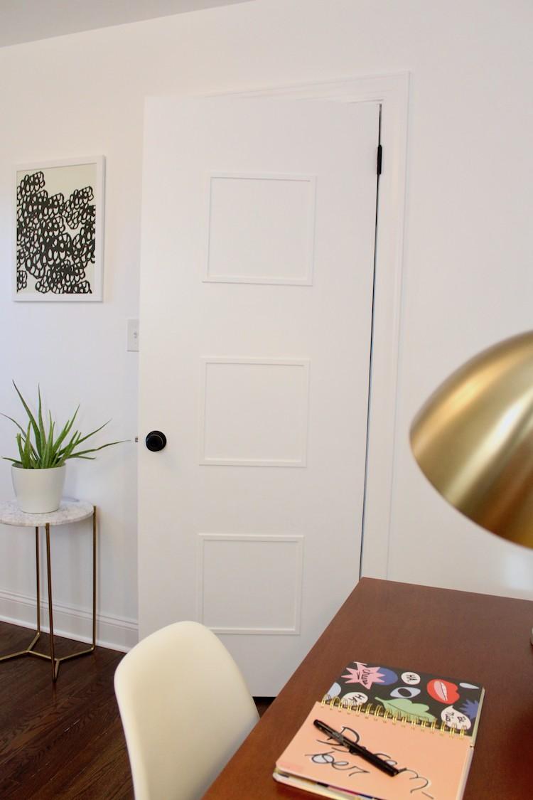 DIY Mid-Century Door Makeover – Home Improvement Blogs