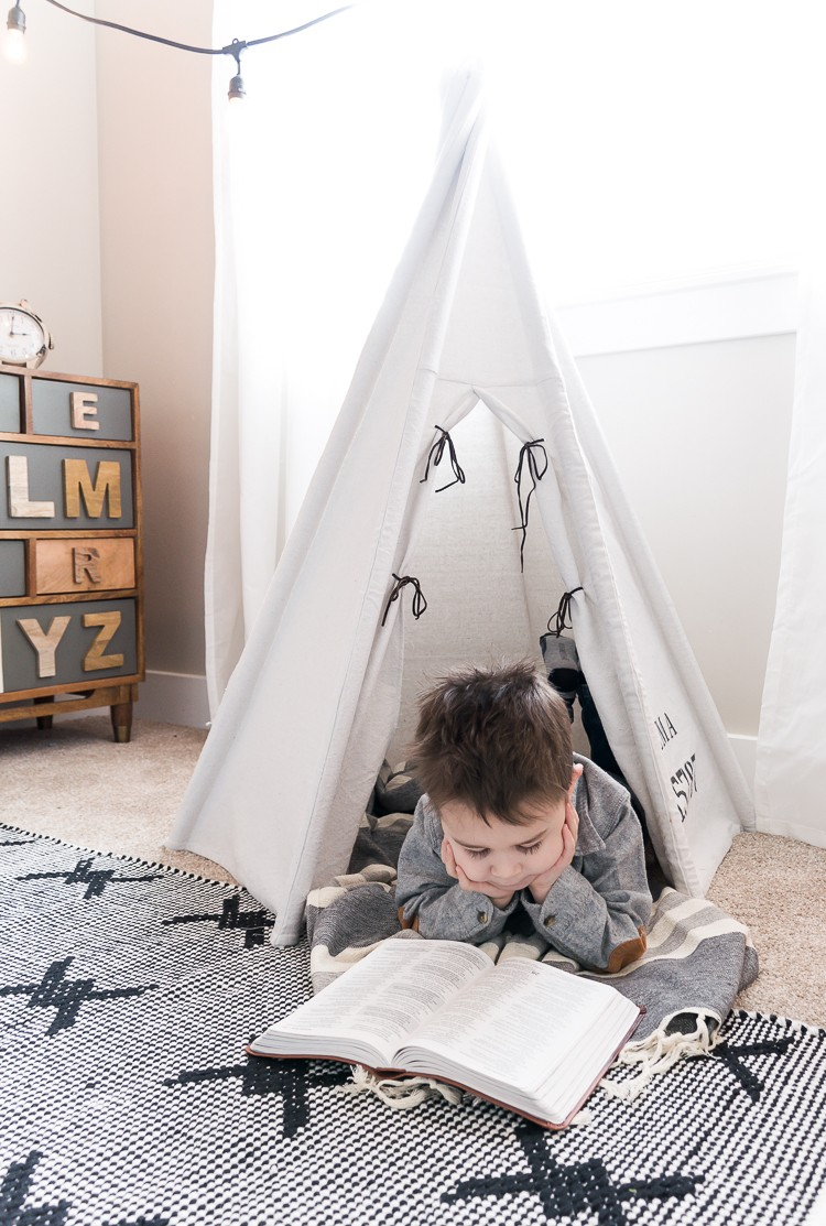 The Ultimate DIY Teepee Tent for Kids