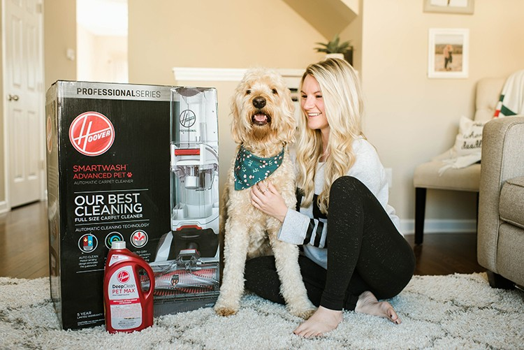 Easy Carpet Cleaning With SmartWash Pet Advance