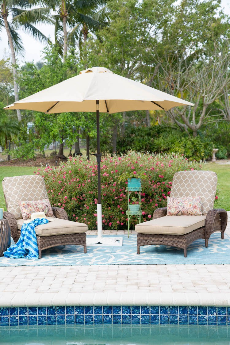 Creating a Relaxing Pool Patio Retreat