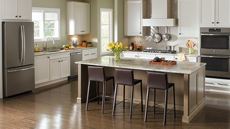 Black Stainless Steel & Slate On-Trend Appliance Finishes