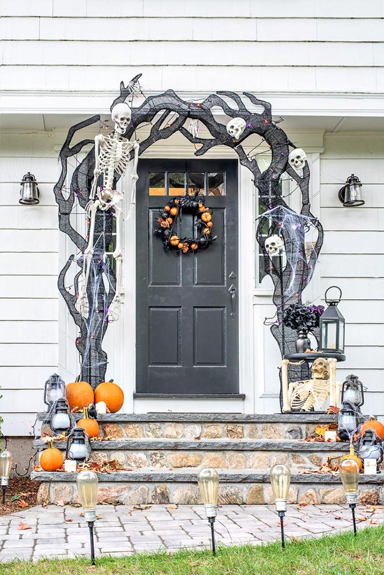 A Spooky Halloween Front Porch Home Improvement Blogs