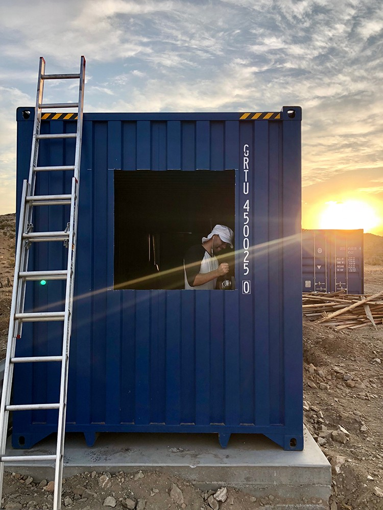 Learn how DIY expert Ben Uyeda converted a few shipping containers into a container home built with materials and tools available at The Home Depot.