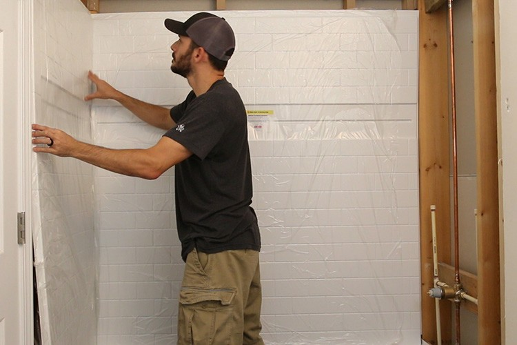 Renovating a Small Bathroom with the Delta UPstile Wall