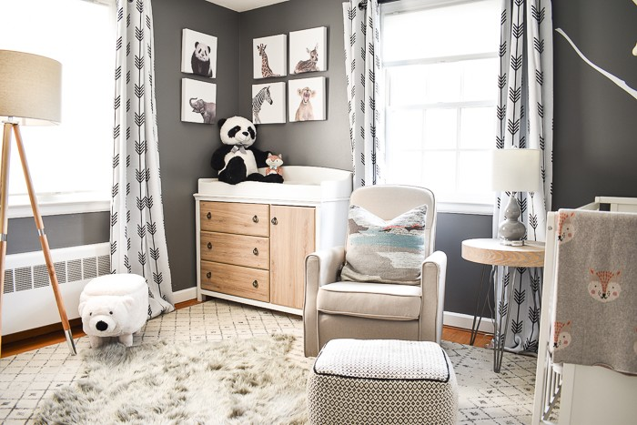 Charlotte Smith from At Charlotte's House walks through choosing the perfect neutral palette for a baby boy's nursery and how to start decorating the space.