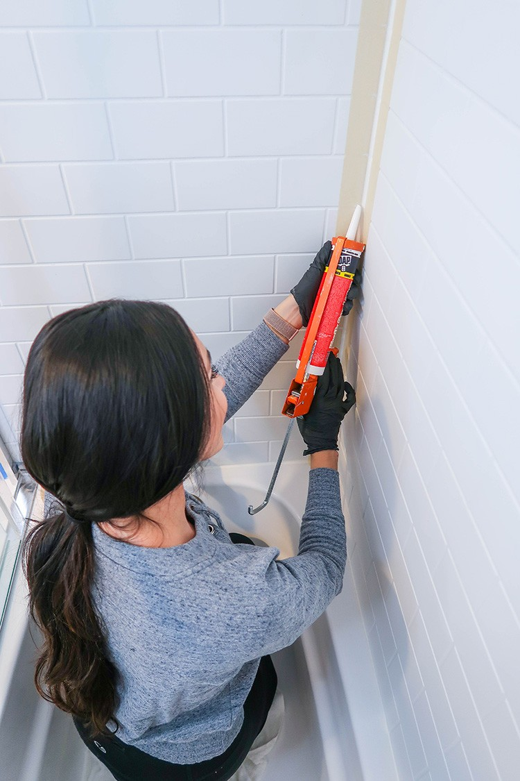 A Tiled Amp Styled Bathroom Update Home Improvement Blogs