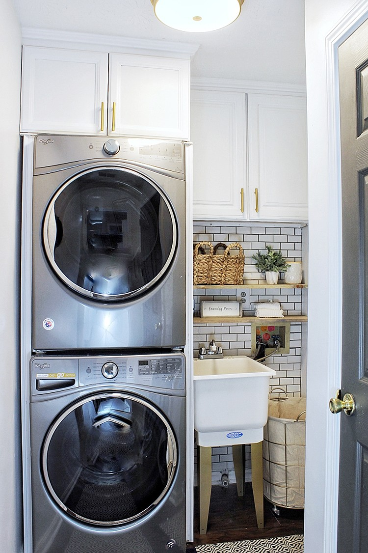 New Year, New Laundry Room Makeover One of the most neglected areas of my home has been my laundry room. I never liked doing laundry, so it has mainly been