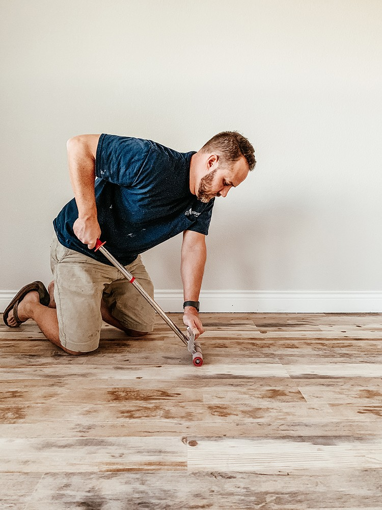 Faux Farmhouse Flooring Makeover – Home Improvement Blogs