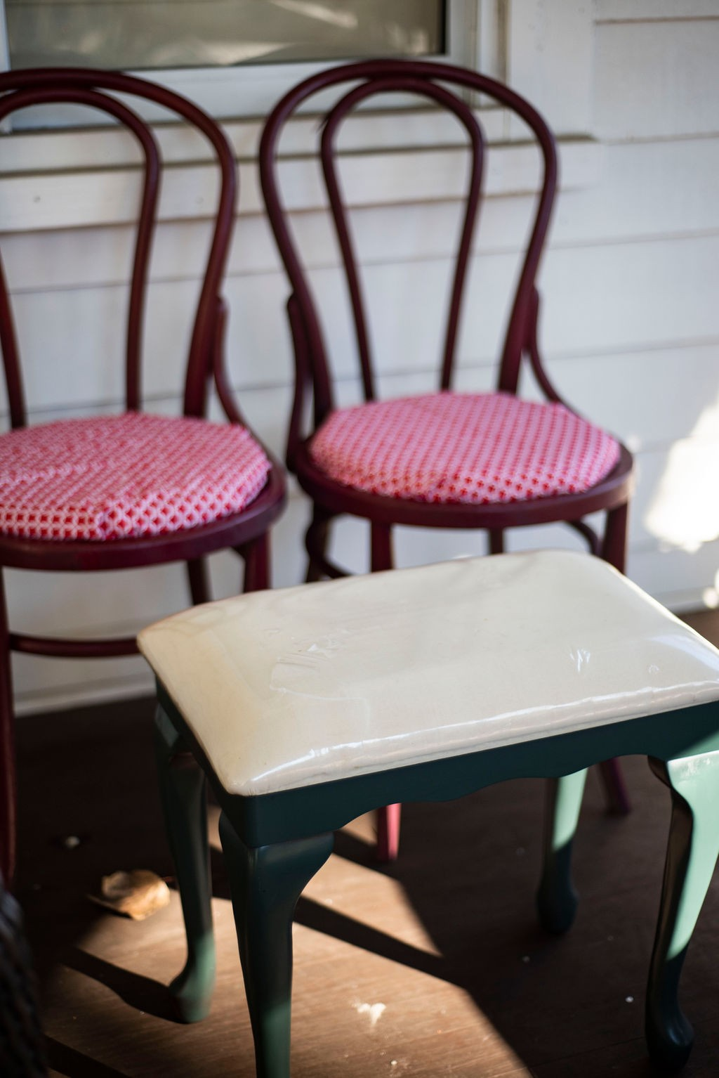 DIY Porch Swing Update