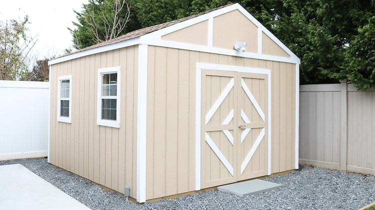 Build A Shed and Turn It Into a Workshop