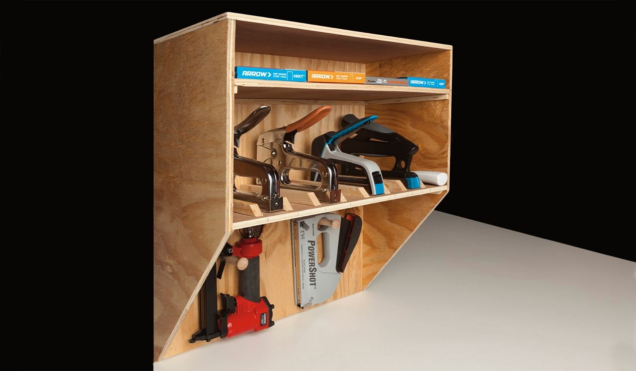 Easy Step By Step Instructions For A Diy Tool Organizer For