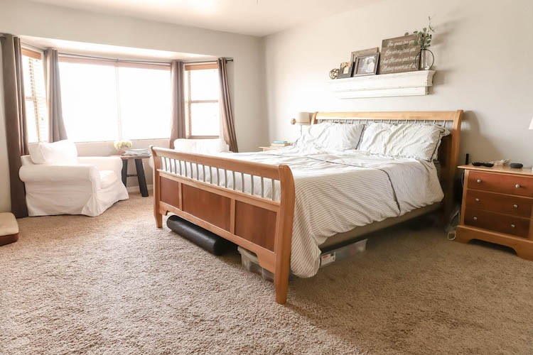 Master Bedroom Refresh with Waterproof Laminate Flooring