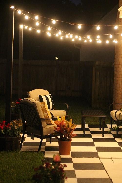 tiny patio