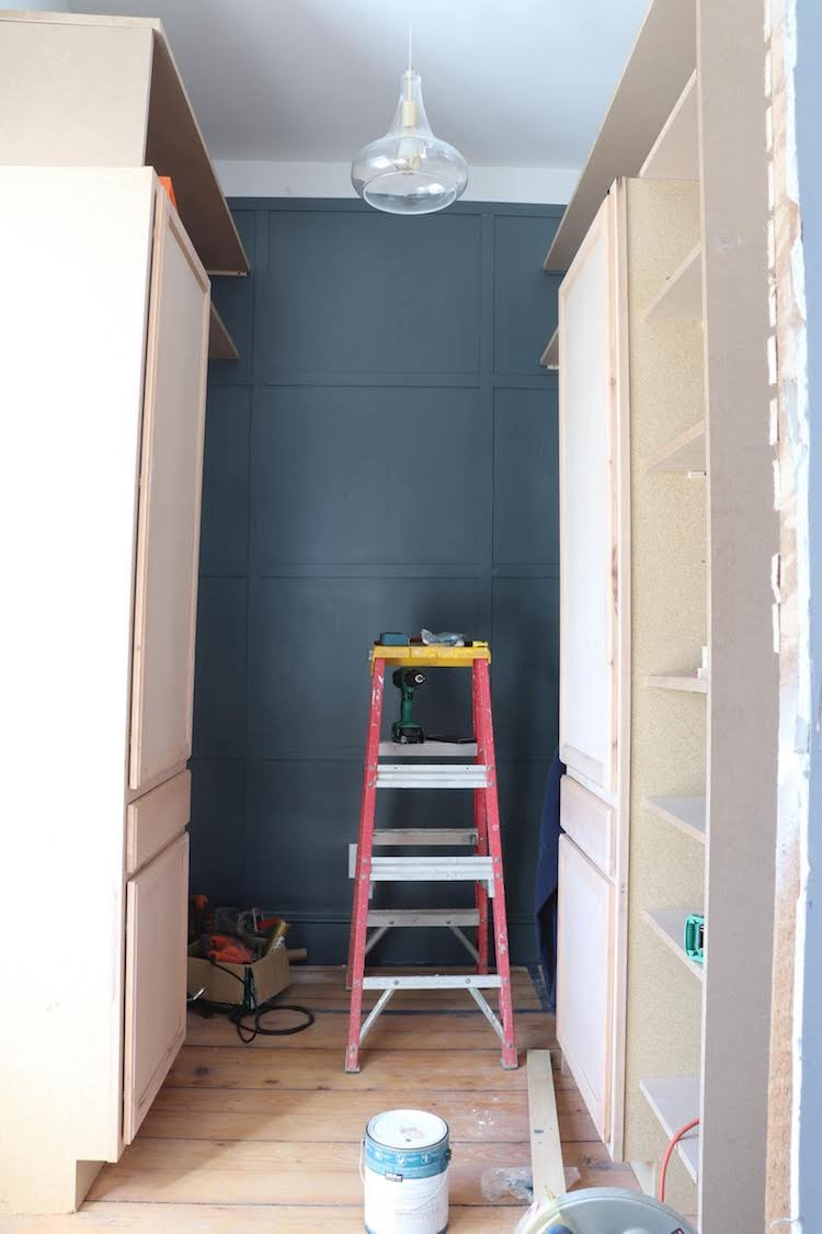 Spare Room Space Turned Custom Closet