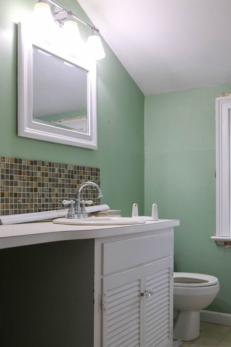 A Colonial Bathroom Renovation Maximizing Small Spaces