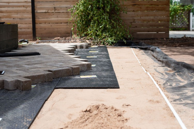 How to Install A Herringbone Paver Patio