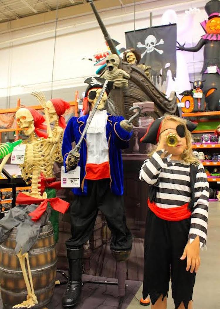 Pirate Themed Halloween