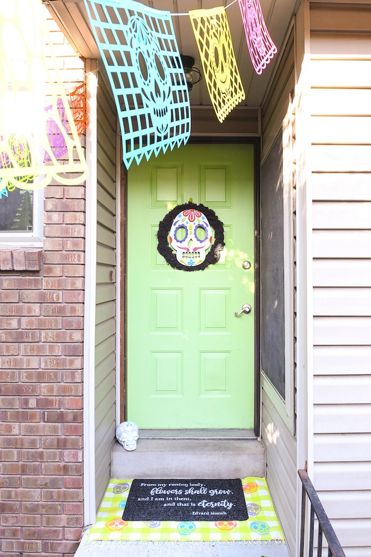 Day of the Dead Halloween Porch
