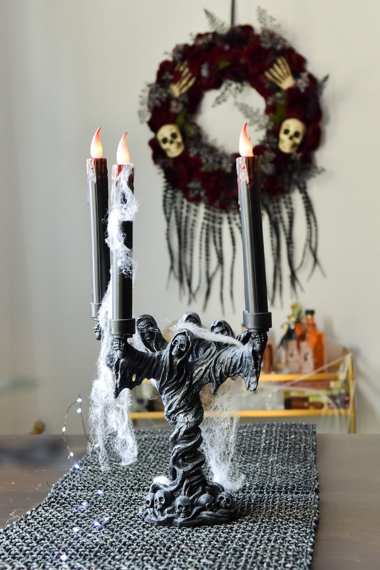 Easy Halloween Dining Room Design