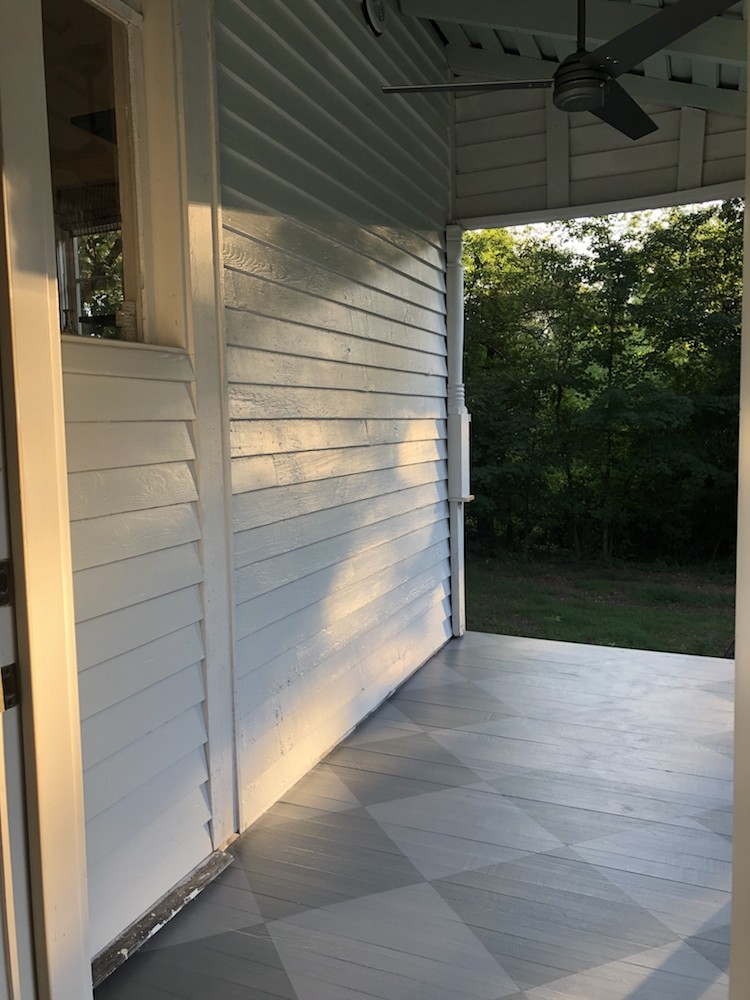 Back Porch Rebuild and Refresh