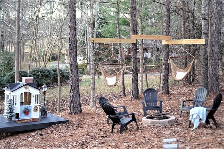 family friendly backyard