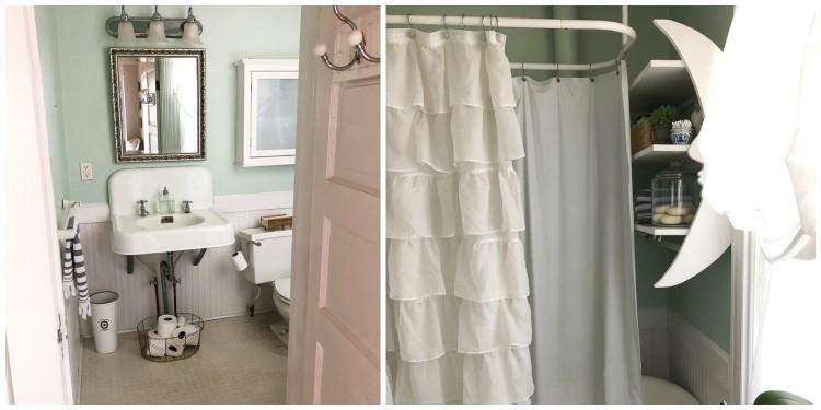 Vintage Small Bathroom Redo
