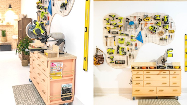 Creating The Perfect Girl Garage Space